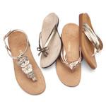 Metallic Sandal Collection