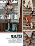 Marie Claire : Josie Croc Kitten Heel
