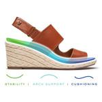 Brooke Cognac Leather Three-Zone Comfort