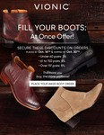 AW20 At-Once Boot Promo Flyer