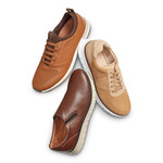 AW20 Mens Slip-On Brown Collection