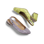 SS21 Nola Embs Snk Pastel Lilac and Jade Embs Snk Citrine Collection